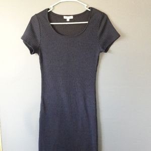 Rolla coster navy sweater maxi dress